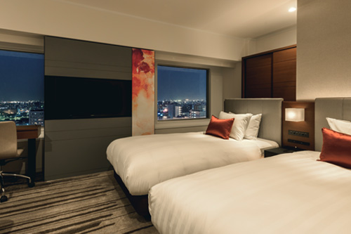 <GoToトラベルキャンペーン割引対象>【札幌の夜景を満喫】高層階のお部屋でちょっぴり贅沢ラグジュアリープラン/素泊り