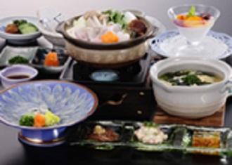 【年末年始限定】夕食「ふく会席」付 1泊2食付プラン