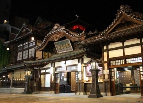 【神の湯2階】日本最古の湯・道後温泉満喫プラン(朝食付)