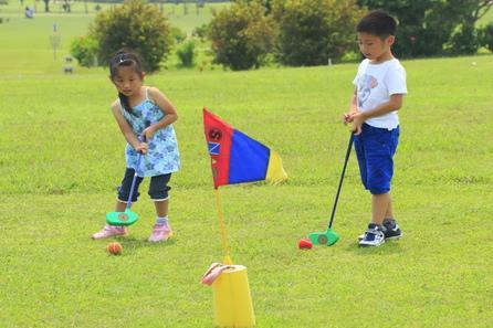 【早得90】家族でゴルフ三昧★滞在中スナッグゴルフ・パターゴルフが使い放題!