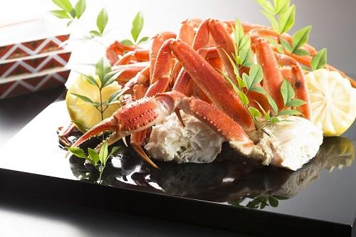 【1泊2食】蟹食べ放題!のディナーブッフェ&ローストビーフ、鰤しゃぶ、白子と野菜の天ぷら★Wi-Fi無料■フロントは16階■